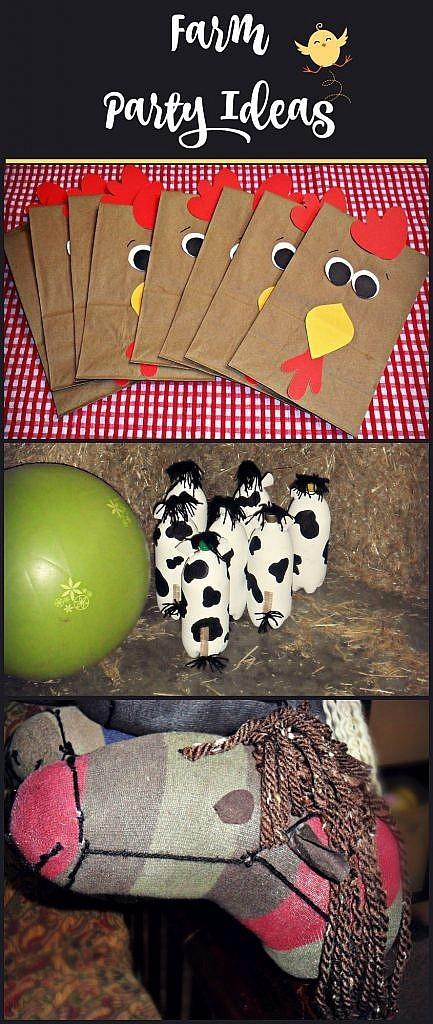 How To Throw A Farm Birthday Party Knock It Off Kim