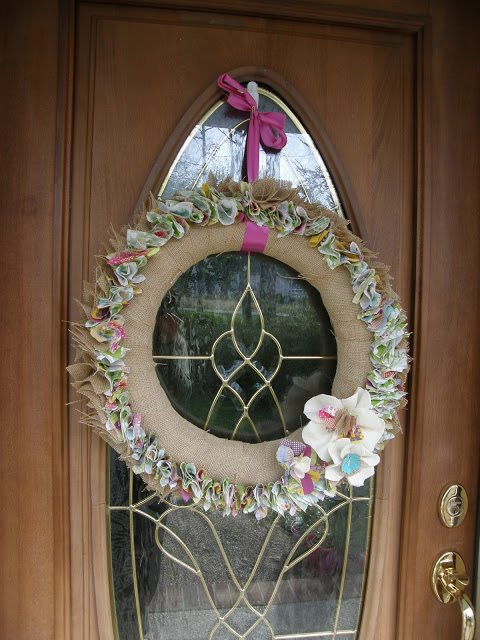 types of burlap wreaths