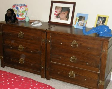 dresser makeover - before