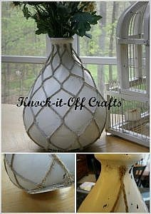 Pottery Barn Inspired Vase