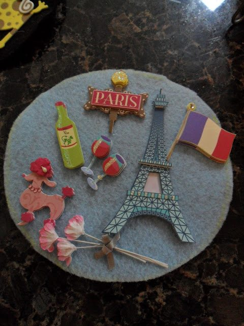 Countdown Calendar to help count down to holidays or vacations - we will always have Paris