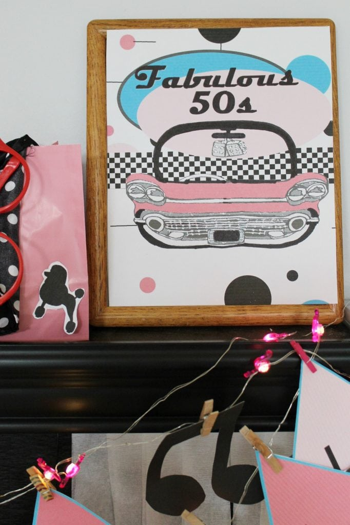 birthday-party-50s-sock-hop - fab 50s printable