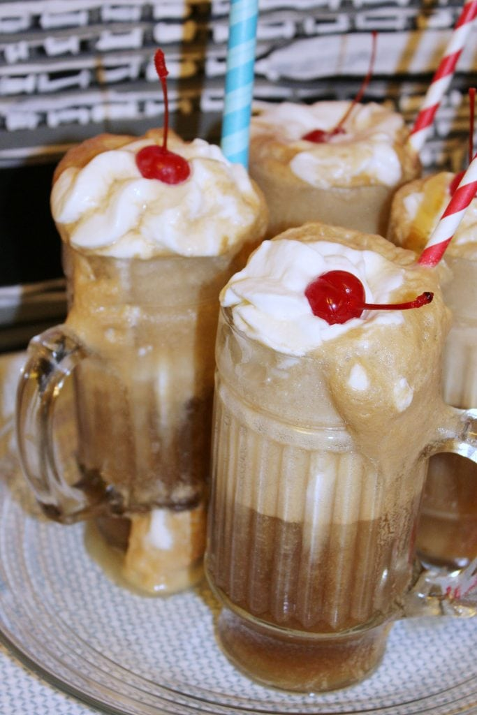 birthday-party-50s-sock-hop - rootbeer float