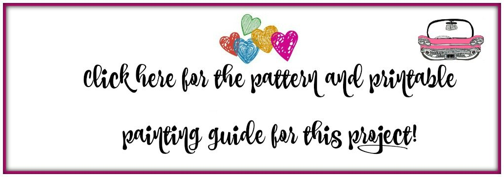 printable pattern and guide logo