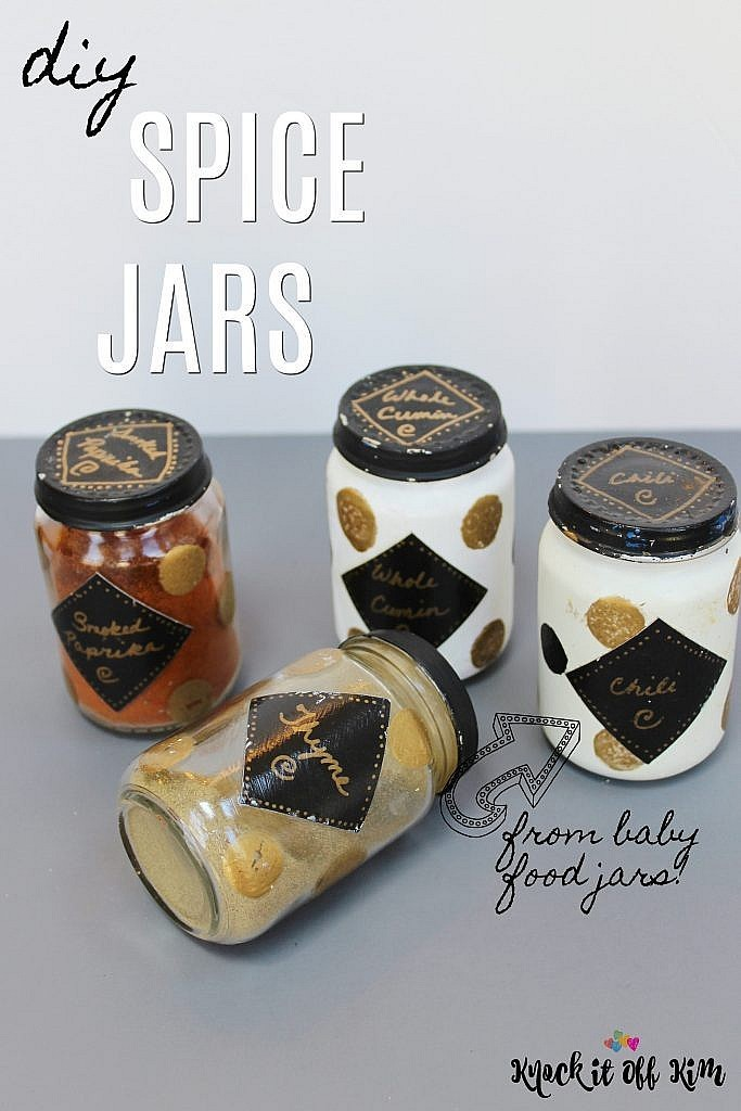 spice jars knockitoffkim diy