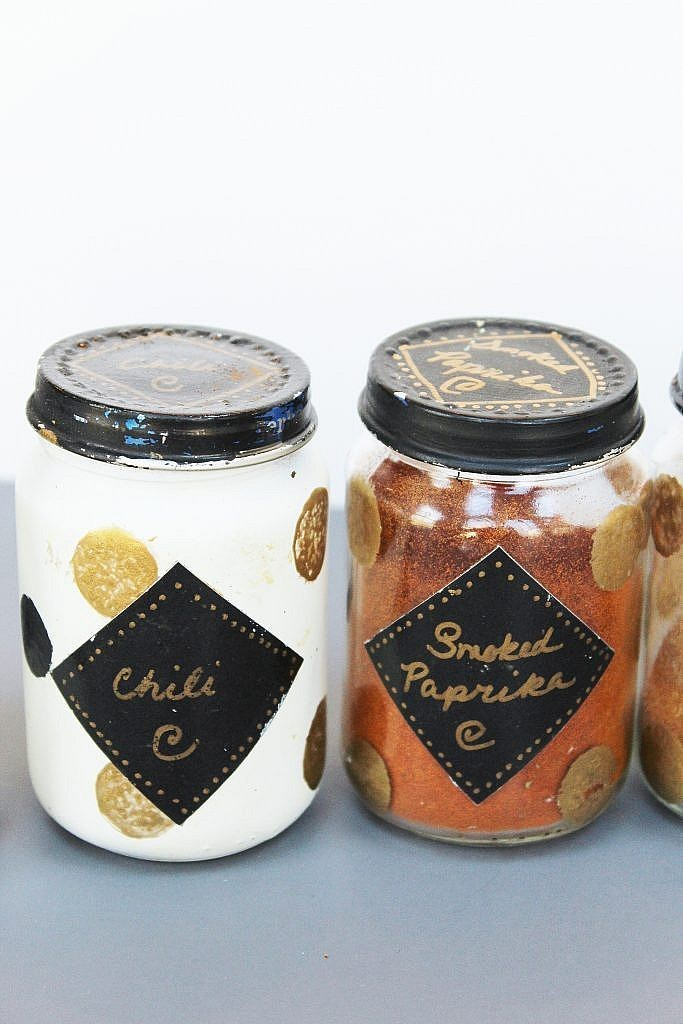 spice jars end