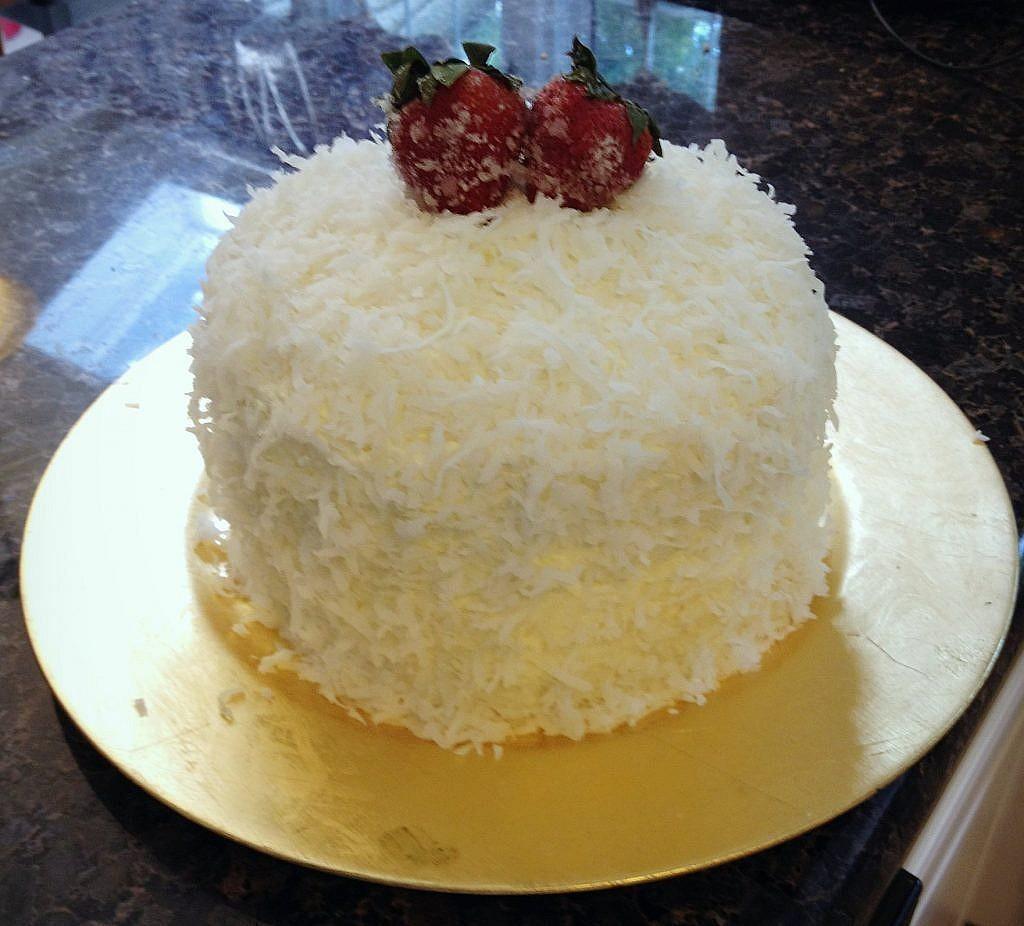 Cheater Coconut Cake