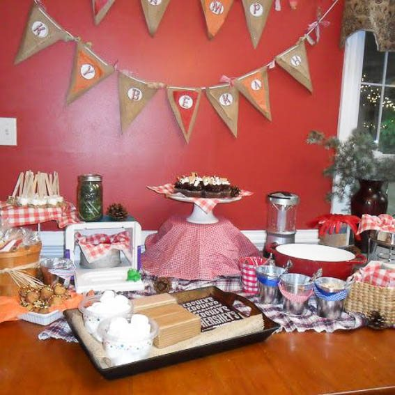 camping theme party - 5