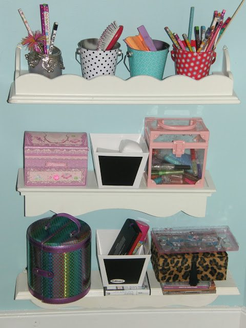 Behind Door Storage - containers