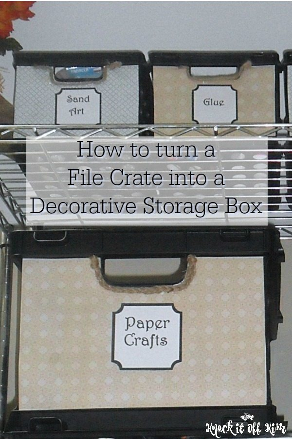 decorative storage container bin