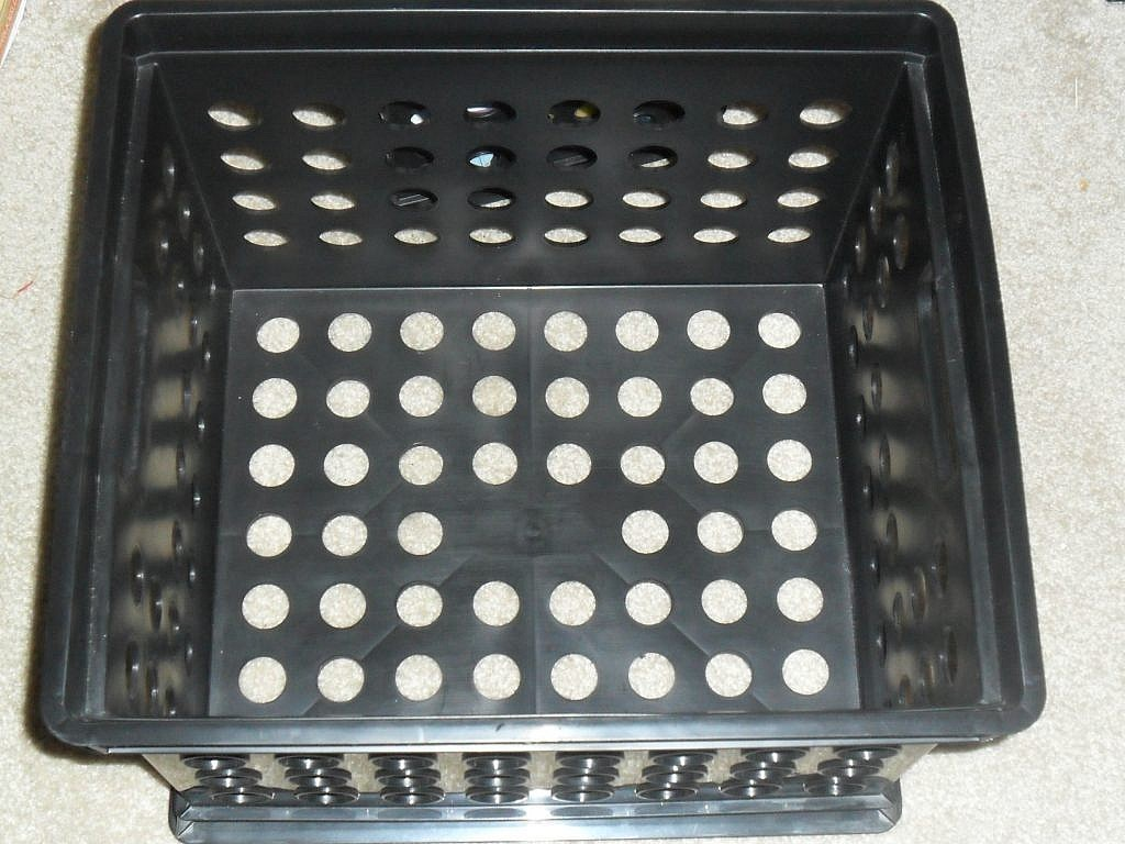 storage container - plain plastic file box
