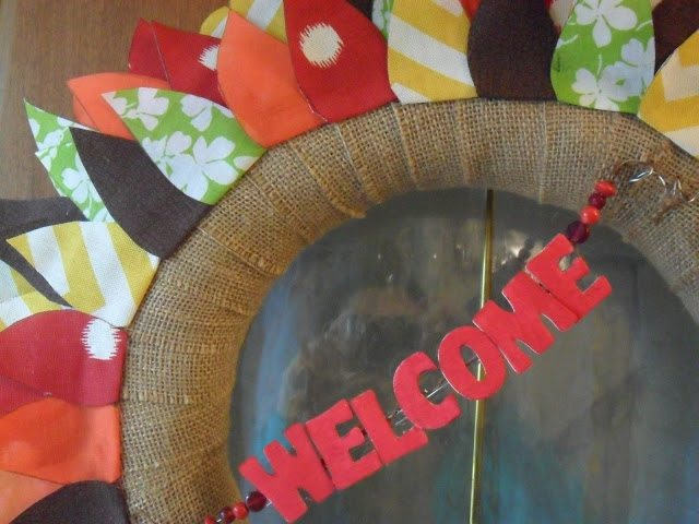 Autumn Wreath - Add Welcome