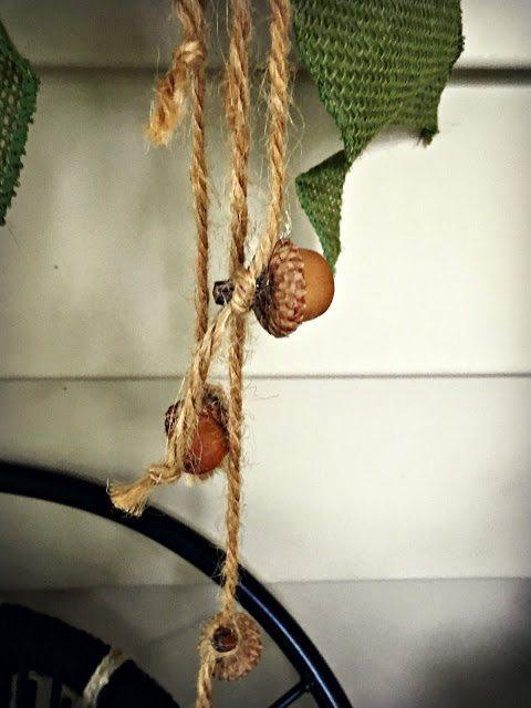 Acorn Wreath Crafts