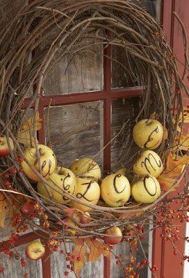 apples wreath