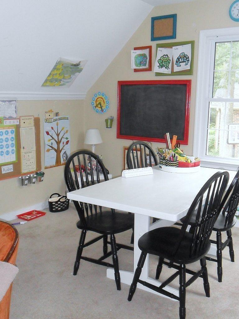 homeschool room for cheap