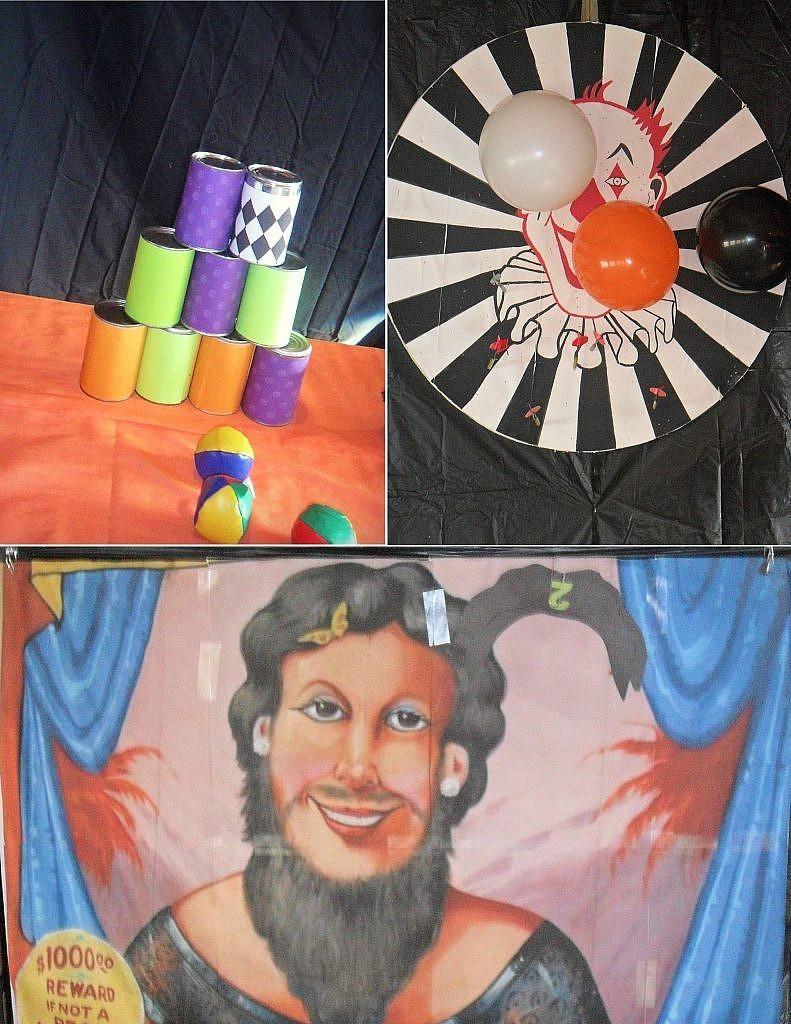 Creepy Carnival - carnival games