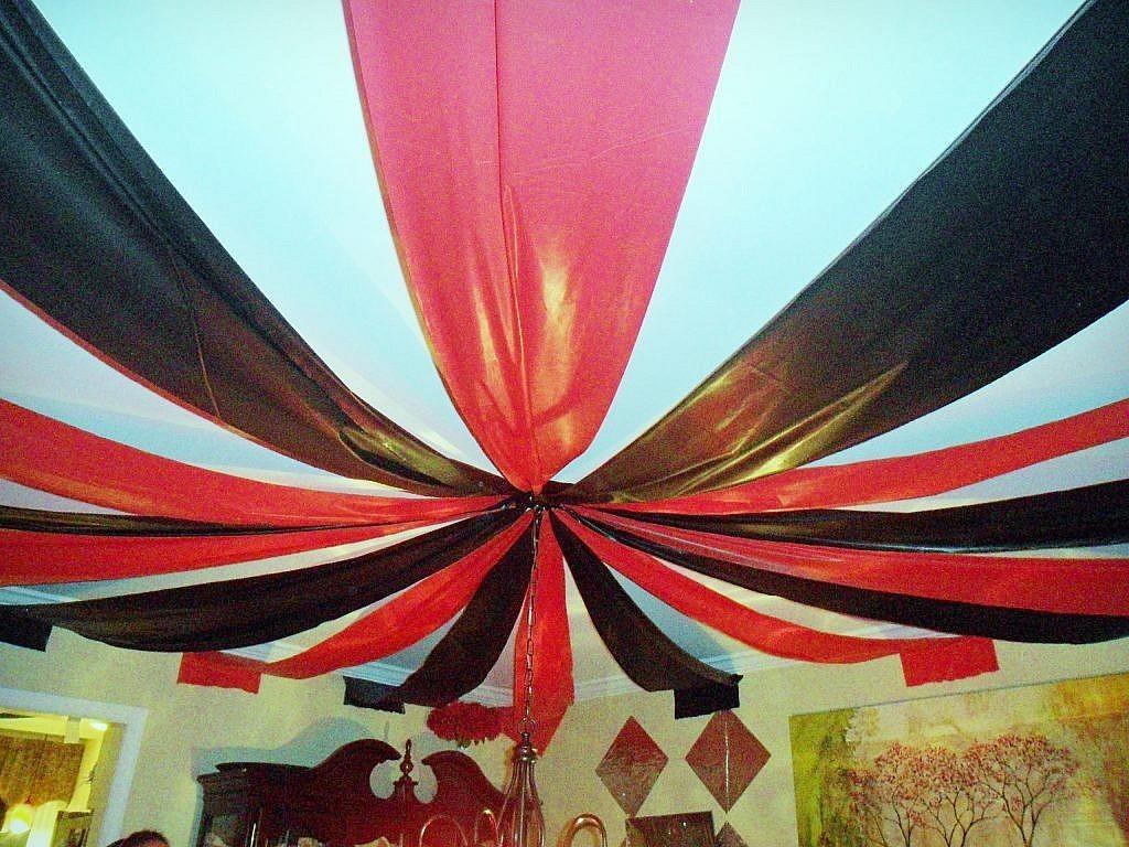 creepy carnival - big top ceiling