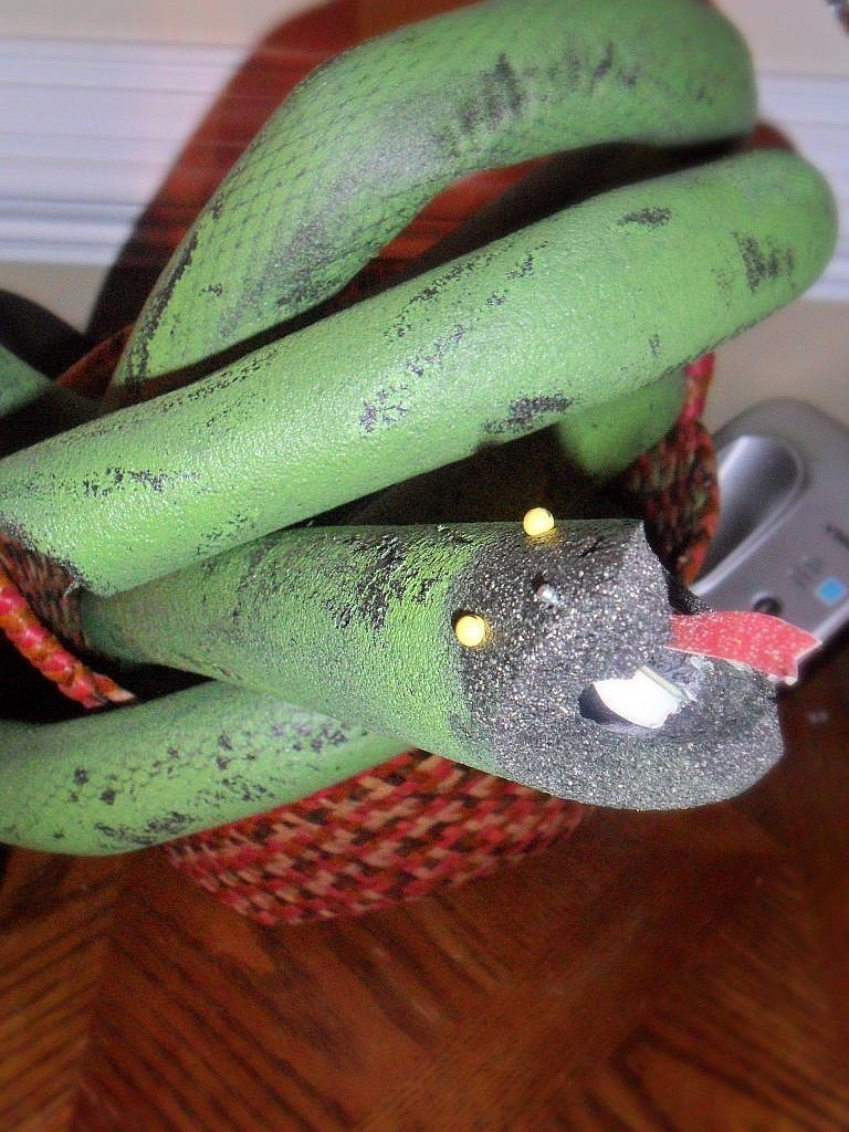 creepy carnival halloween - snakes