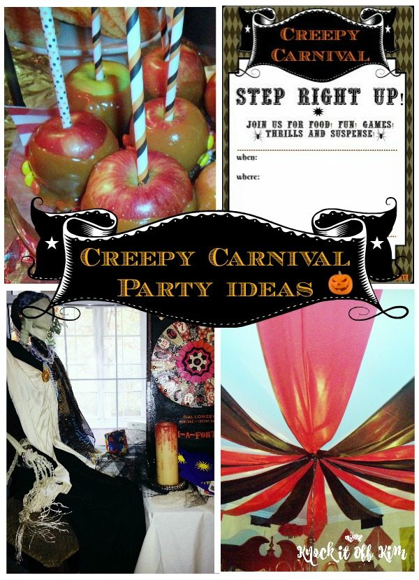 Carnival Halloween Party Ideas.Creepy Carnival Family Halloween Party Tips Tricks And