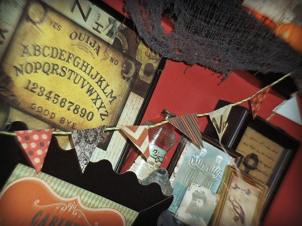 curiosities - printed ouija board