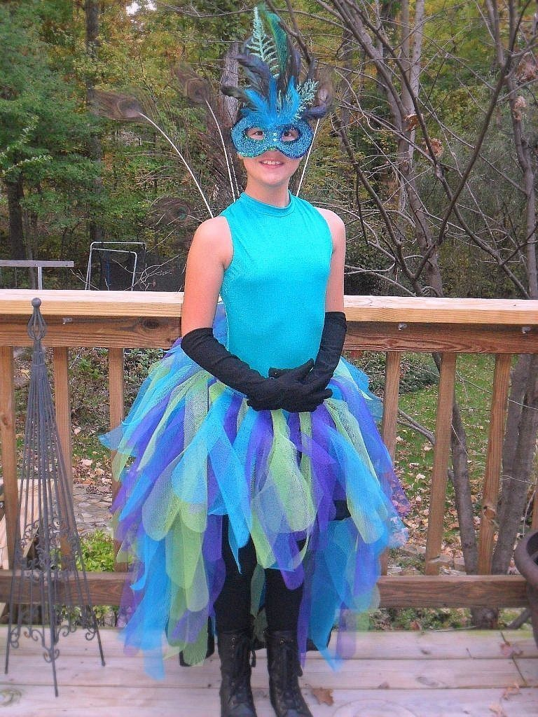 peacock costume - front