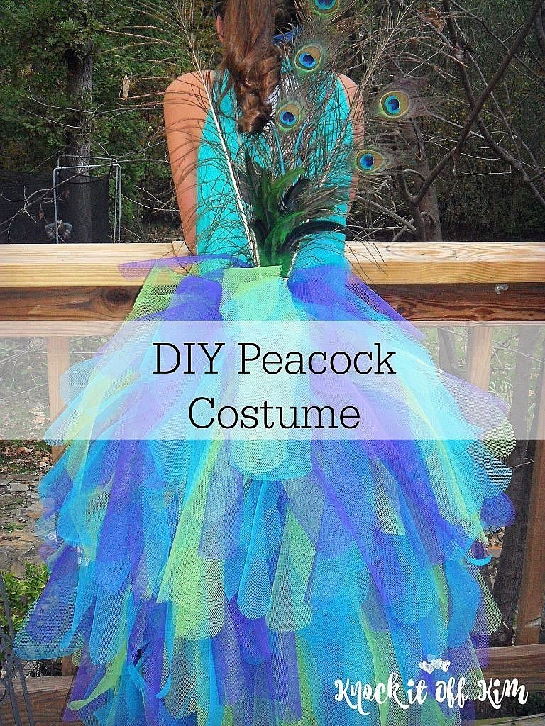 e4b1f65a0 How to Make a Majestic Peacock Costume - Knock It Off Kim