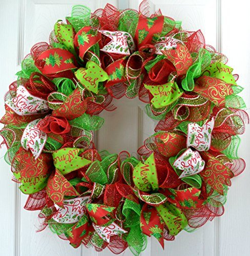 decomesh christmas wreath