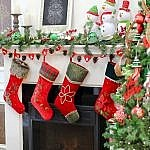 christmas house - stockings