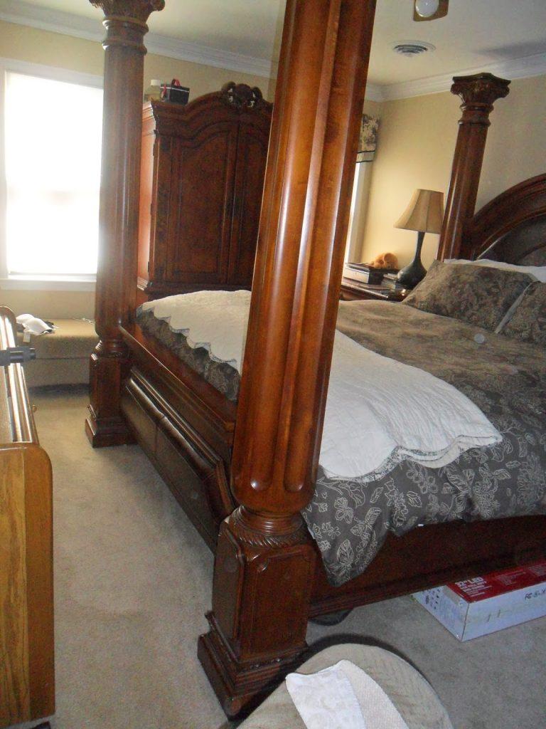 Master Bedroom Makeover - Monster Bed