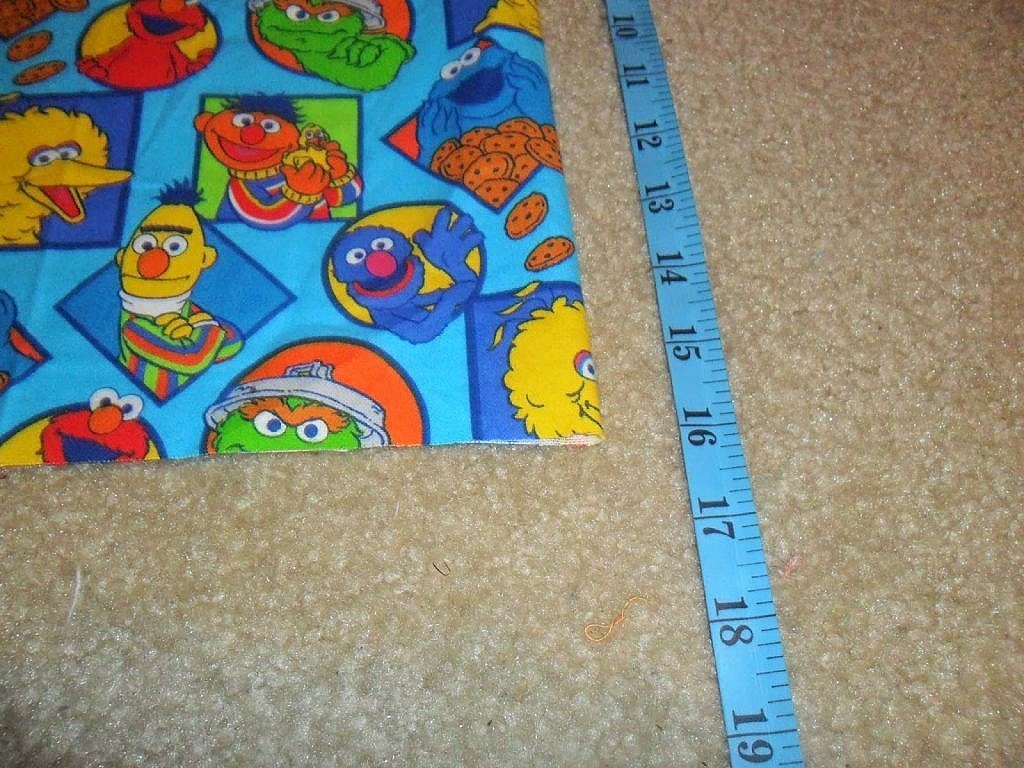 fabric bags - measure length