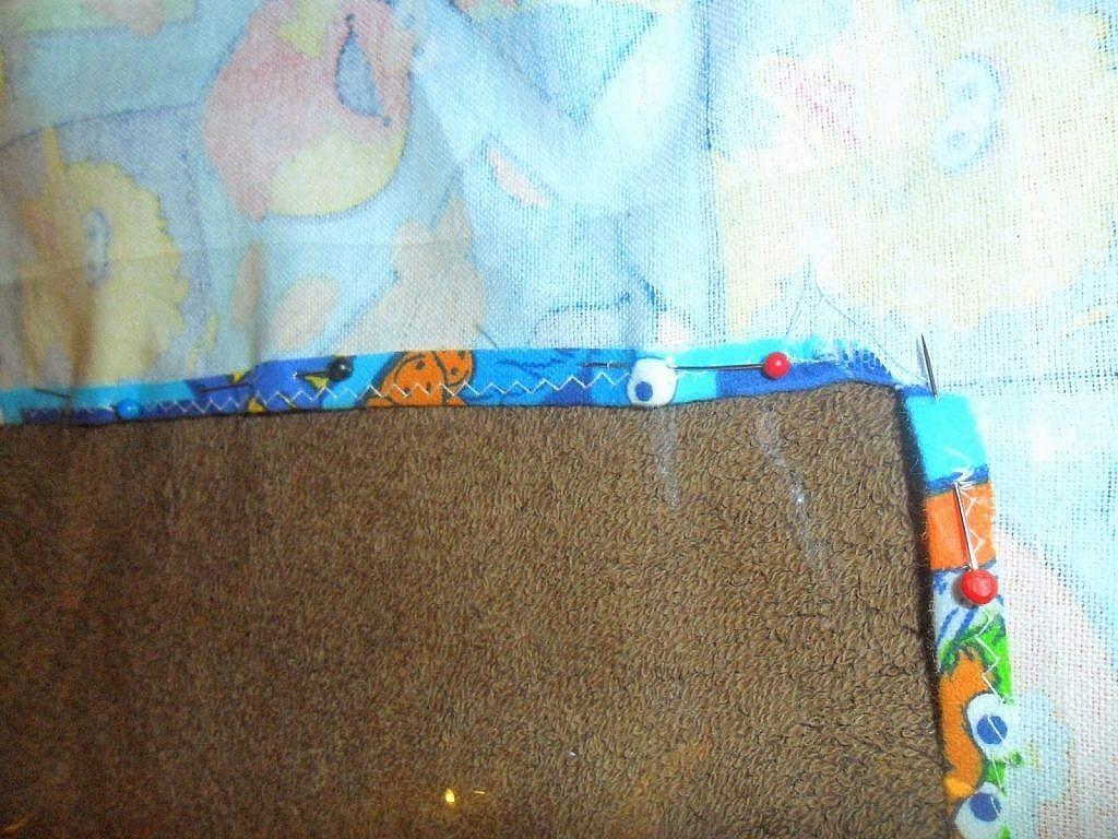 fabric bags - pin vinyl