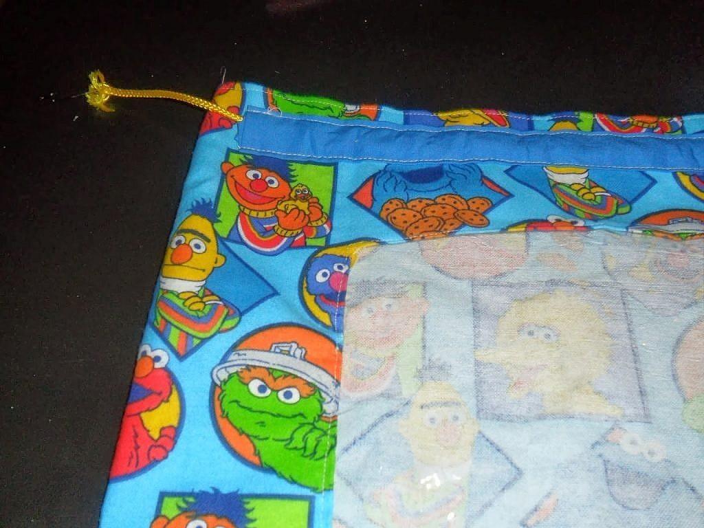 fabric bags - add drawstring pocket