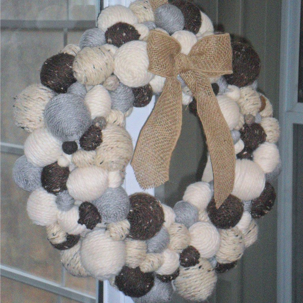 feature winter wreath