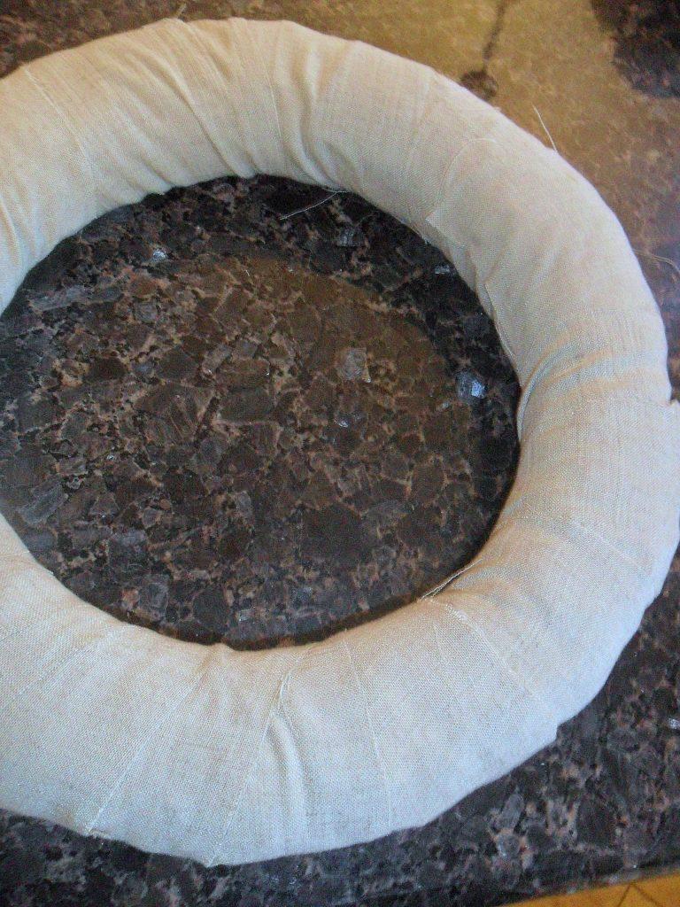 winter wreath wrap form