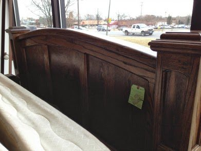 rustic headboard - at store