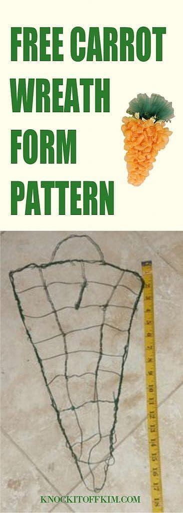 wreath form pattern