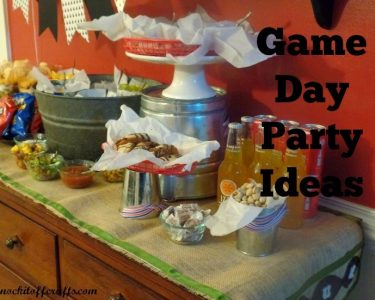football party ideas - displayservewareheader