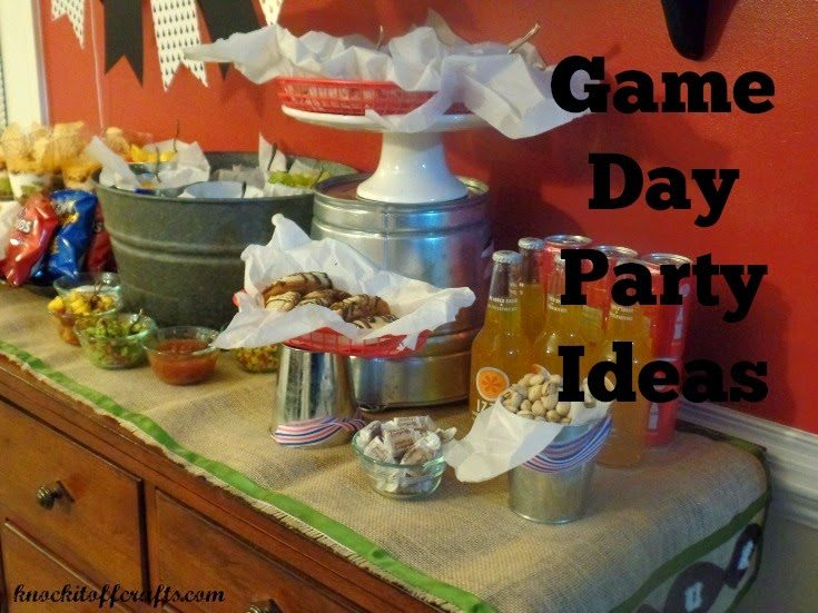 football party ideas - displayservewareheader