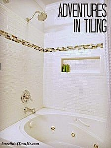 Bathroom update - Adventures in Tiling