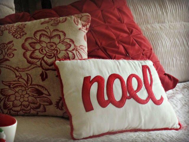 Christmas home decor throw pillows