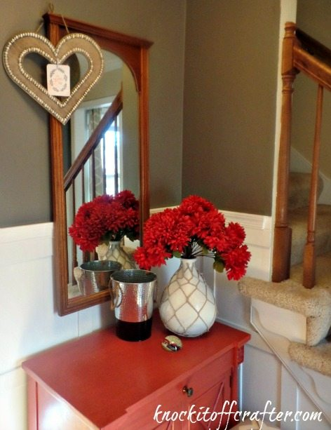 Valentines Day Decor - hanginginfoyer