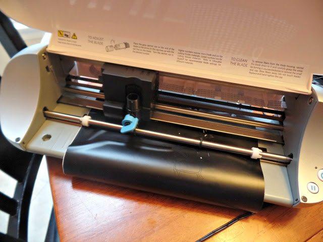 otomi coasters - cutting vinyl