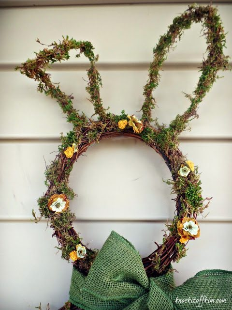 grapevine bunny wreath-UpperFinished