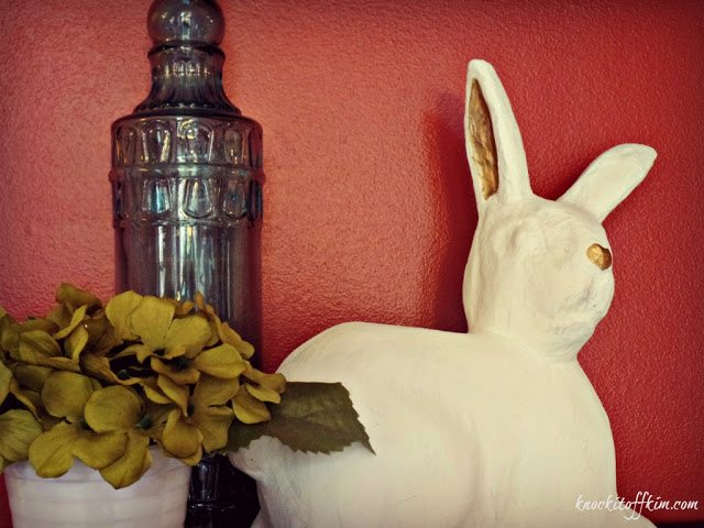 spring decor ideas - bunny