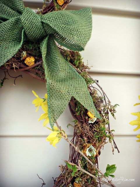 grapevine bunny wreath
