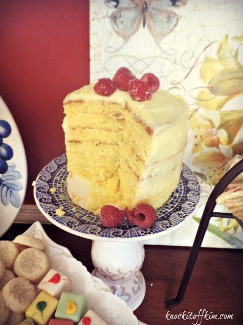 spring tea - cutthecake