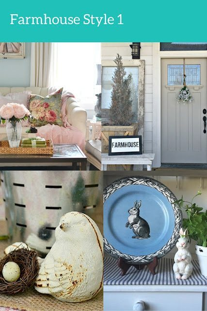 farmhouse style spring decor