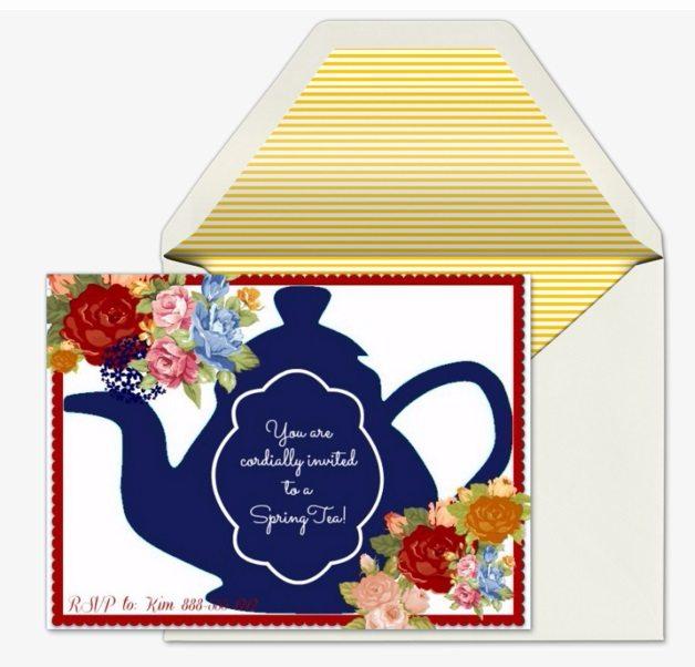spring tea - invitegraphic