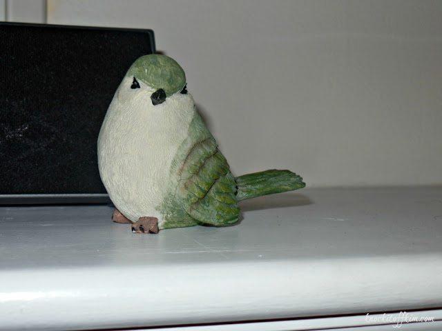 spring mantel_bird