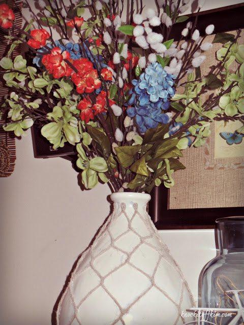 spring_mantle - flowers